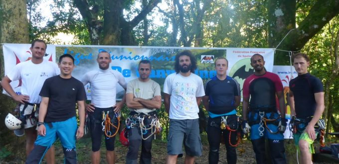 Stage initiateur canyoning 2014