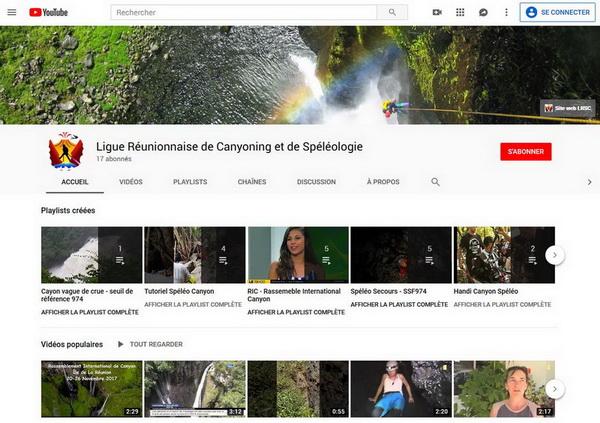 Chaine Youtube LRSC