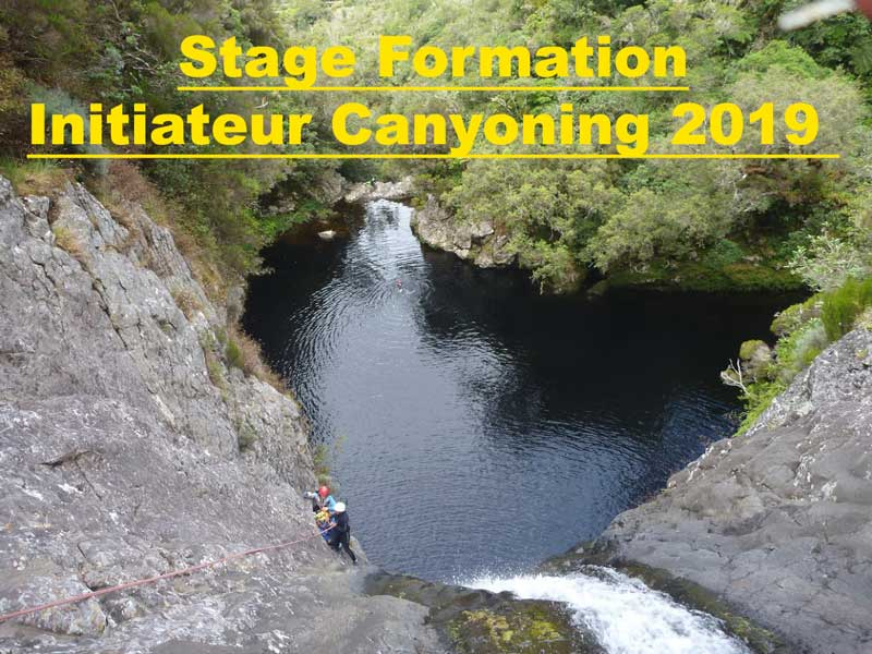Stage intiateur canyon 2019